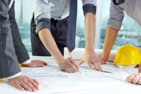Architekten Teamarbeit
